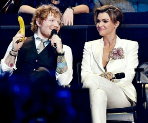 celebs, ruby rose, and ed sheeran image