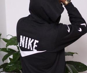nike, black, and boy image
