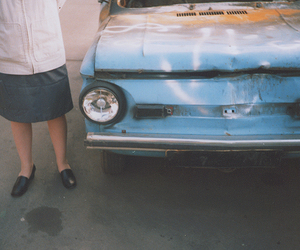 analog, blue, and car image