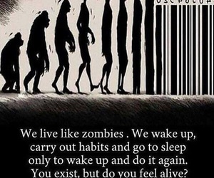life, zombies, and alive image
