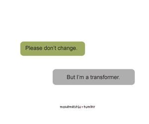 text and transformers image