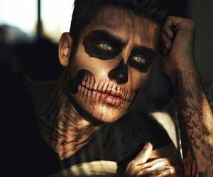 boy, Halloween, and makeup image