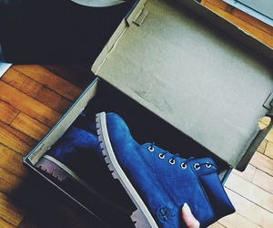blue, boots, and chanel image