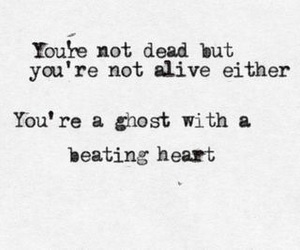 quote, dead, and ghost image