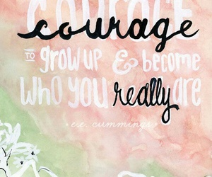 courage, quotes, and life image