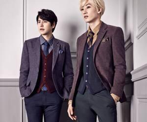 eunhyuk, kyuhyun, and models image