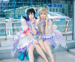 cute anime girl cosplay, love live cosplayer, and white day kotori image