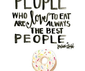 quotes, food, and donuts image