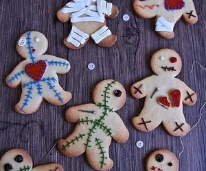 Halloween, food, and Cookies image