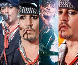 handsome, johnny depp, and rock image