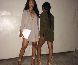 fashion, dress, and makeup image