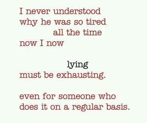 lying image