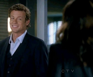 simon baker, the mentalist, and snappytoes image