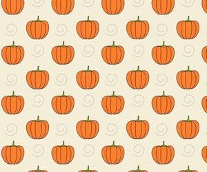 pumpkin, background, and Halloween image