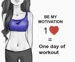 be strong, booty, and flat stomach image