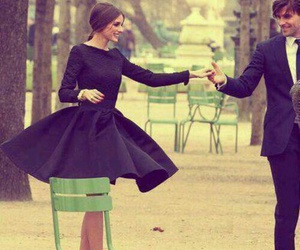 couple, dress, and olivia palermo image