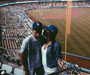 blue, cute couple, and la image