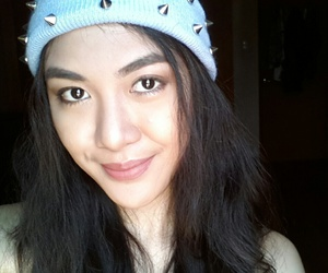 asian, make up, and brows image