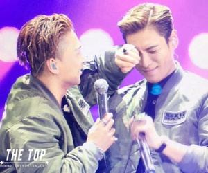 bigbang, taeyang, and T.O.P image