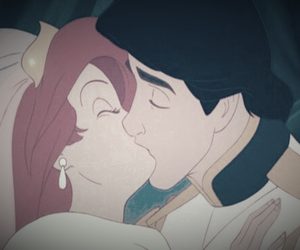disney, ariel, and kiss image