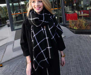 plaid pattern, wholesale7, and thick scarf image