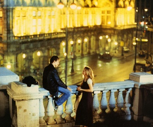 before sunrise, couple, and love image
