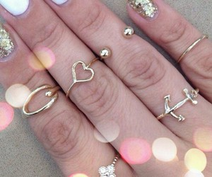 beautiful girls rings image