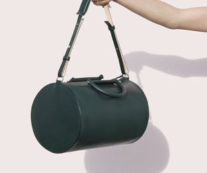 cylinder and duffle bag image