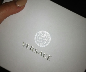 Versace, luxury, and nails image