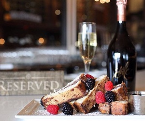 beautiful, cakes, and champagne image