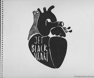 5sos, jet black heart, and 5 seconds of summer image
