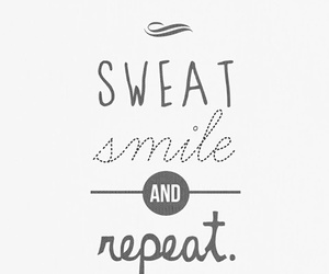 smile, sweat, and fitness image