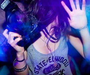 girl, camera, and party image