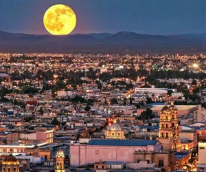 moon, mexico, and city image
