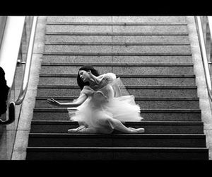 ballerina, ballet, and moving cities image