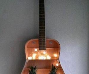 guitar, diy, and light image