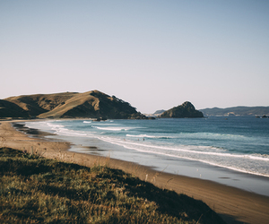 beach, nature, and landscape image