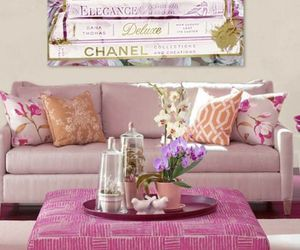 home, chanel, and pink image