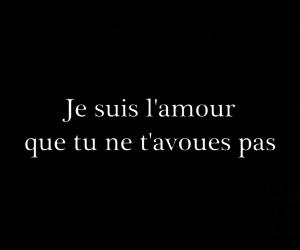 kradify, je suis l'amour, and ne t'avoues pas image