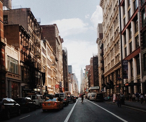 city, street, and tumblr image
