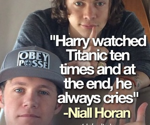 harry fact, one direction facts, and niall fact image