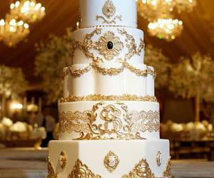 cake, wedding cake, and cake art image