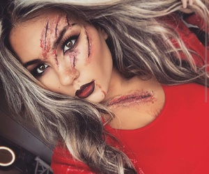 makeup, Halloween, and ideas image