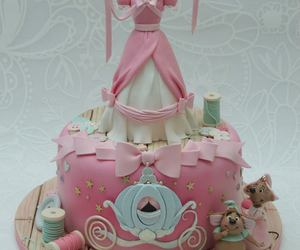 cake, cinderella, and cake art image