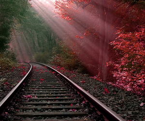 inspiring, trains, and railway tracks image