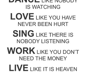 dance, live, and sing image