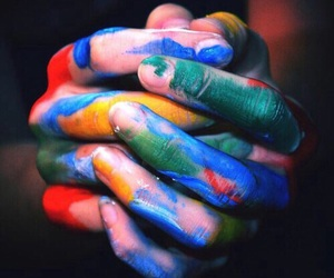 art, colors, and artistic image