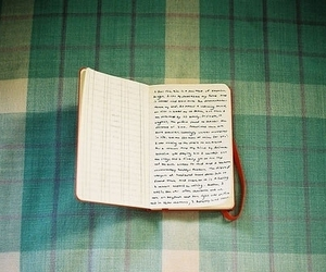 book, words, and vintage image