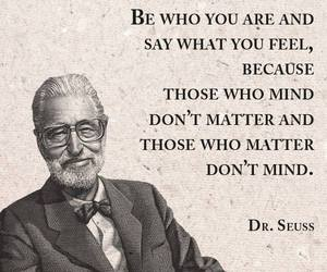 black and white, quote, and dr.seuss image