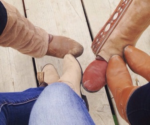 boots, cowboys, and family image